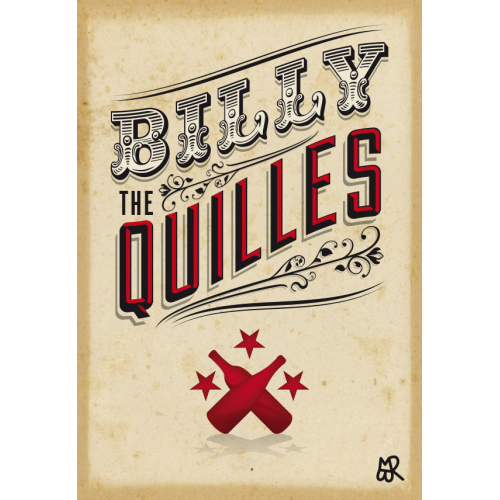 Carte postale Billy the Quilles©