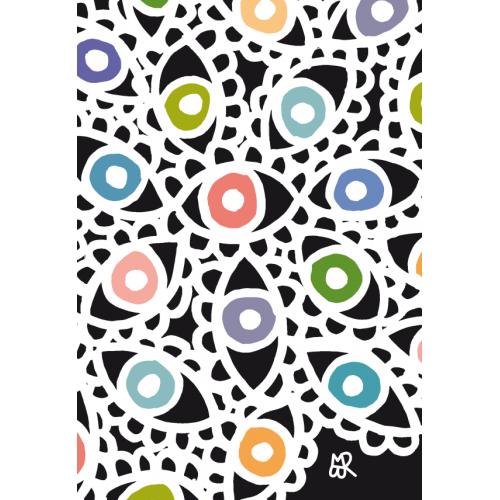 Carte postale Flower Eyes©