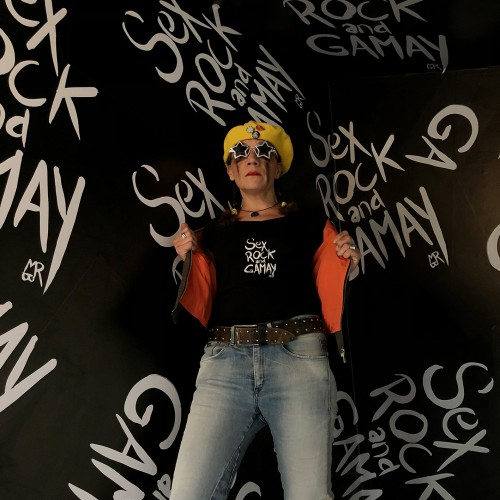 T-shirt Sex Rock And Gamay© - Col V