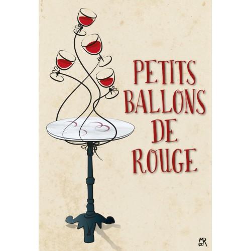 Carte postale Petits Ballons de Rouge©